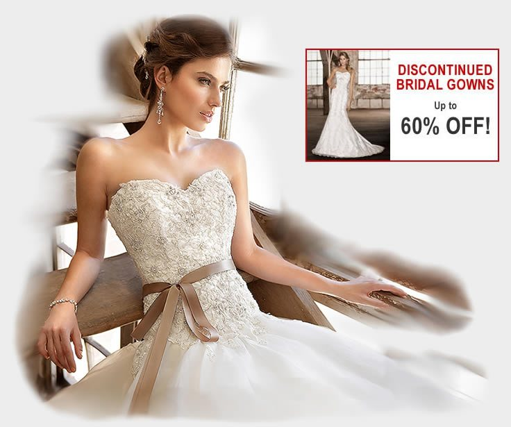 Clearance Bridal Gowns - Sophies Gown Shoppe