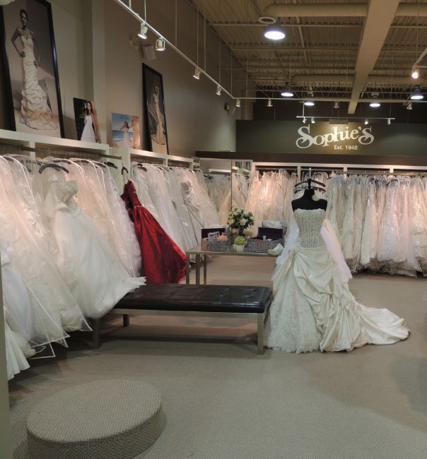 Sophies Gown Shoppe Mississauga Store
